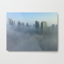 Mystical Morning Fog Metal Print