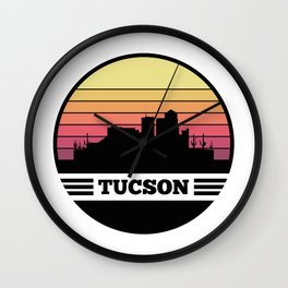 Tucson Skyline Wall Clock