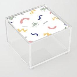 Trueno y hierba Acrylic Box