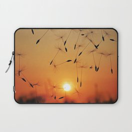 the dance of wishes at sunset Laptop Sleeve