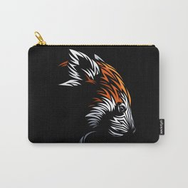 Tribal face red panda Carry-All Pouch