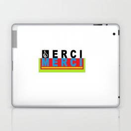 merci Laptop & iPad Skin