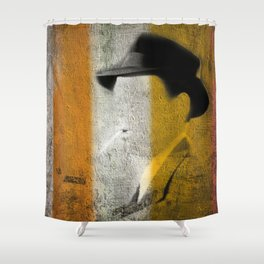 The Detective Shower Curtain