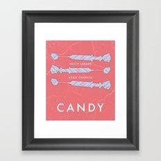 Candy - Movie Poster Framed Art Print