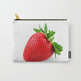 Strawberry on WhiteII Carry-All Pouch