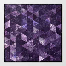 Abstract Geometric Background #27 Canvas Print