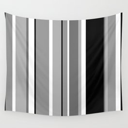 Stripes, the right way Wall Tapestry