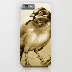 Sparrow With Feather Slim Case iPhone 6s