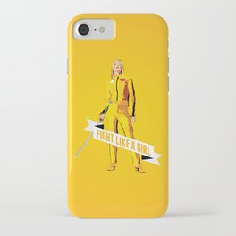 Fight Like a Girl: Beatrix Kiddo iPhone Case