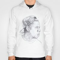 jay z Hoodies featuring Jay Z - Go Home by davidcain_art