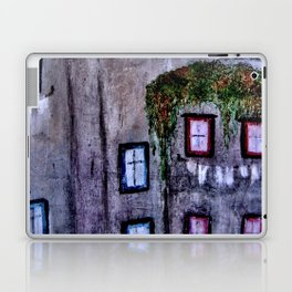 Houses in Milan in the evening Italy Laptop & iPad Skin