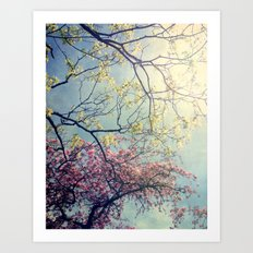 The Song of a Spring Sky Art Print