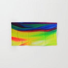 Sky Iridescence - colourful abstract sky art Hand & Bath Towel
