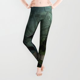 Pirate design, a pirate's life for me Leggings