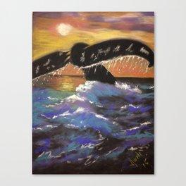 A Very Westie Christmas Canvas Print