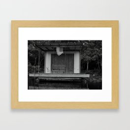 atchafalaya livin Framed Art Print