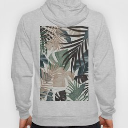 Tropical Jungle Leaves Pattern #13 (Fall Colors) #tropical #decor #art #society6 Hoody