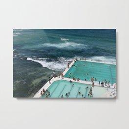 Bondi Icebergs Metal Print