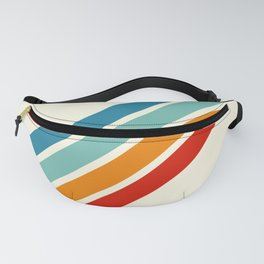 Alator - Classic 70s Retro Summer Stripes Fanny Pack