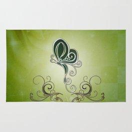 Decorative butterflies Rug