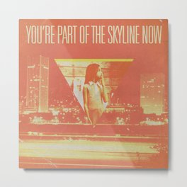The Spring Standards - Skyline Metal Print