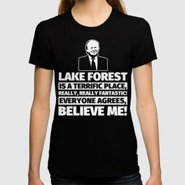 Lake Forest Funny Gifts - City Humor T-shirt
