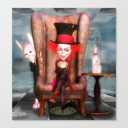 Mad As A Hatter Canvas Print