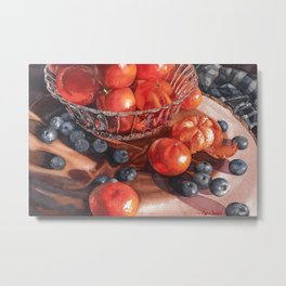 Watercolors by Alane Sleight Metal Print