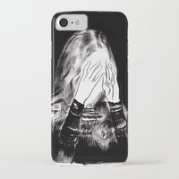 sarah paulson iPhone & iPod Cases featuring Sarah by Taylor Wessling