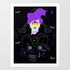Frida Boreal Art Print