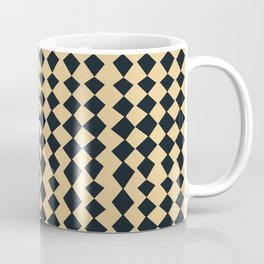 Black and Tan Jester Coffee Mug