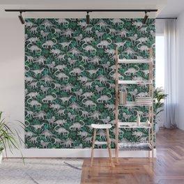 Dinosaur Jungle Wall Mural