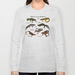 Newts of the World Long Sleeve T-shirt