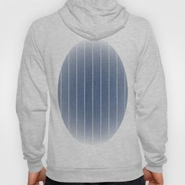 Denim Blue with White Pinstripes Hoody