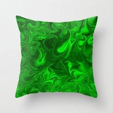 acid swirls  Throw Pillow