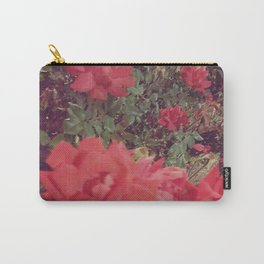 Vintage Rose Garden Carry-All Pouch