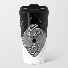 Op-Art Travel Mug