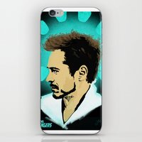 tony stark iPhone & iPod Skins featuring Tony Stark. by Tomcert