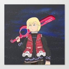 This is the Monado's Power Canvas Print