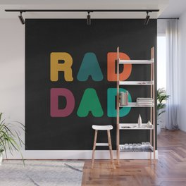 Rad Dad Wall Mural
