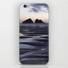 Gull Rock, Holywell Bay, Cornwall, England, United Kingdom iPhone Skin