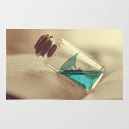 Boat in a bottle Rug