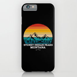 STONEY INDIAN PEAKS Montana iPhone Case