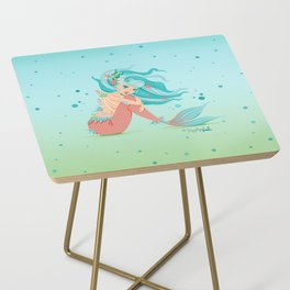 Monster Mermaid Pin-Up Side Table