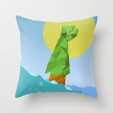 Polygon Heroes Rise 5 Throw Pillow