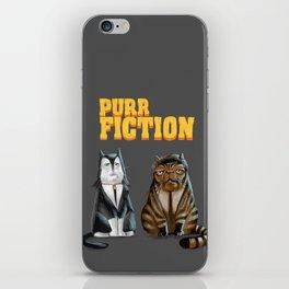 Purr Fiction iPhone Skin