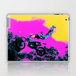 Letting Go - Freestyle Motocross Stunt Laptop & iPad Skin