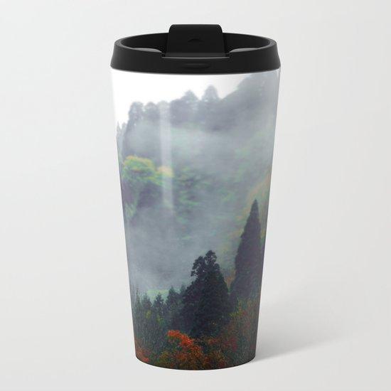 Forest Vibes Metal Travel Mug