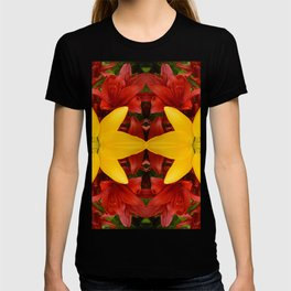 """A Gathering of Lilies"" Remix - 4 (1-1) [D4469~57] T-shirt"