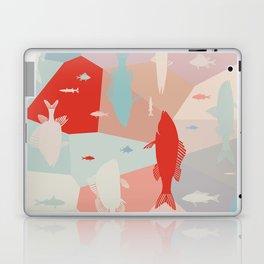 California Pastel Fish Laptop & iPad Skin